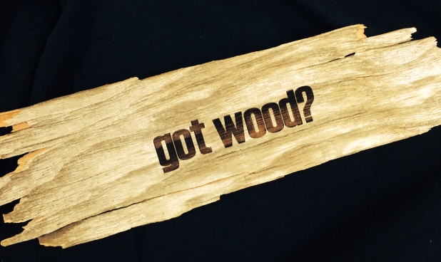 Laseretcheddriftwood
