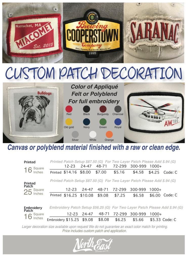 Custom Patch End User copy